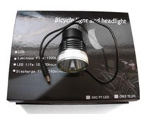 T6 Bicycle Light and Headlight with 1200lm