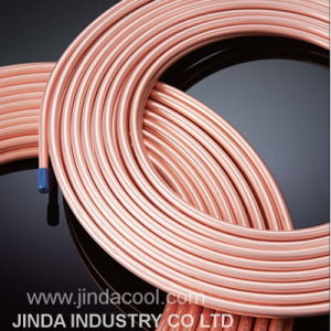 50′ Pancake Coil Copper Pipe in Refrigeration