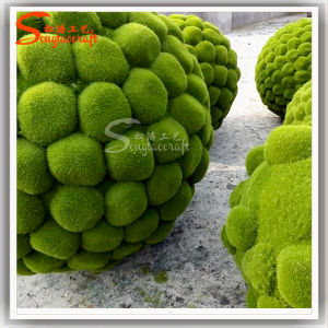 Wholesale Artificial Turf Lawn Ball Moss Ball Artificial Grass Ball pictures & photos