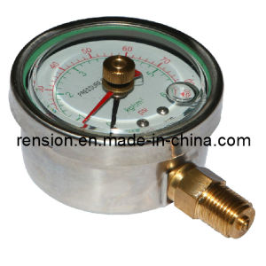 Stainless Steel Oil Pressure Gage/Manomerter pictures & photos