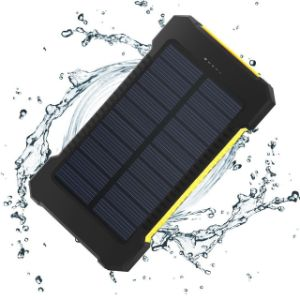 free shipping b352d dc161 Dual USB Ports Portable Mobile Smart Phone Power Bank Solar Charger  10000mAh Universal Waterproof Solar Power Bank for Mobile Phone with LED  Torch ...