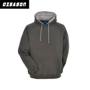 Customized Blank Plain High Quality Cotton Fashion Unisex Winter Hoody pictures & photos