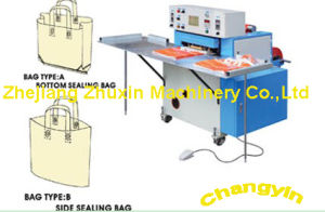 Automatic Soft Handbag Loop Wielding Bag-Making Machine (CY-HB) pictures & photos