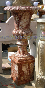 Stone Marble Garden Flower Planter (QFP335) pictures & photos