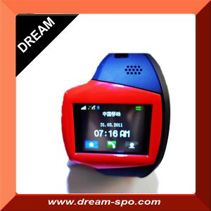 GPS Phone Watch with Wireless Heart Rate Monitor/Watch Phone/Sos Watch Phone (GP-1)