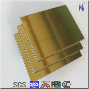 Megabond Silver Surface ACP Aluminum Cladding pictures & photos