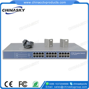24 Port CCTV Camera Full Gigabit Poe Network Switch (POE2400-3) pictures & photos
