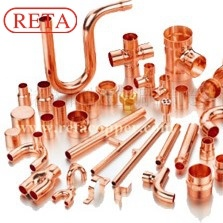 R410A Pressure Copper Pipe Copper Fitting pictures & photos