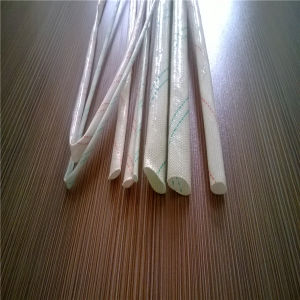 2.5 Kv PVC Coating Braided Fiberglass Sleeving for Electrical Insulation