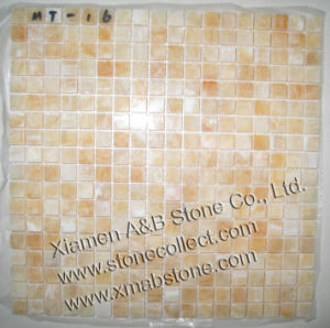 Honey Onyx Mosaic Tiles pictures & photos