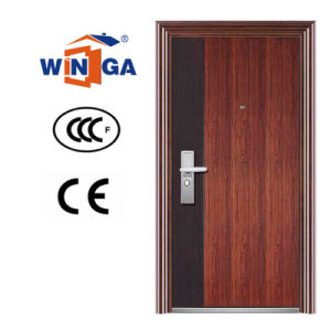 Popular Europ Style Entrance Iron Steel Door (W-S-05) pictures & photos