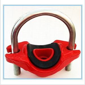 Ductile Iron Grooved U-Bolted Mechanical Tee with FM/UL/Ce Approved pictures & photos