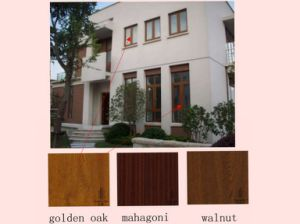 Wooden Grain Interior & Exterior Foil for Window Sill/ Window Profile
