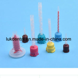 Dental Disposable Impression Tips Mixting Tips pictures & photos