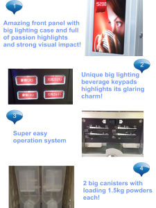 S200 Smart Commercial Full Automatic Beverage Dispenser pictures & photos