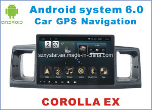 New Ui Android System Car Video for Toyota Corolla Ex 7 Inch with Navigation
