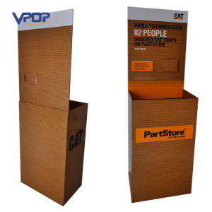 Cardboard Advertising Pallet Display Dump Bins for Supermarkets
