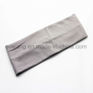 Low Price Hair Accessories Elastic Solid Color Yoga Headband in Stock