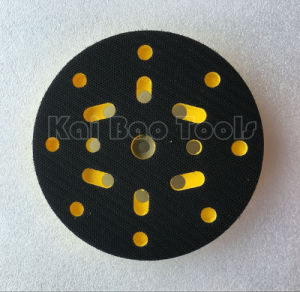 150mm Sanding Backup Pad with 8+8+1 Holes pictures & photos