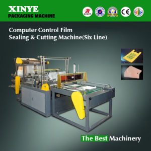 Ruian Six Line Plastic Shopping Bag Making Machine pictures & photos