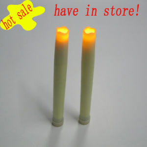 Indoor Battery Operated Glittering Halloween Using Imitation LED Taper Candle Gift for Children pictures & photos