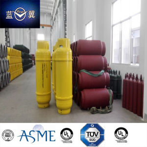 980L 700kg Empty Refillable Welding Steel Gas Cylinder