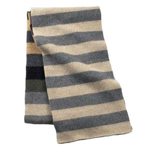 Simple Men′s Striped Style Scarf (JRI081) pictures & photos