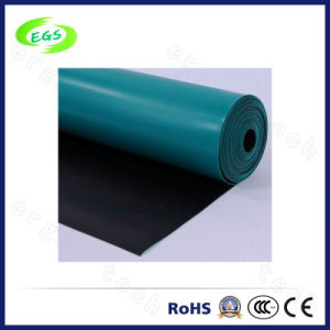 Customizable Environmental Natural Rubber ESD Table/Anti-Static Floor Mat (1.8*10M) pictures & photos