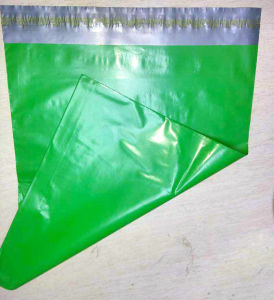 Waterproof Shipping Plastic Garment Bag with Adhesive Seal pictures & photos