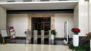 Security Entrance Swing Barrier Gate for Access Control System pictures & photos