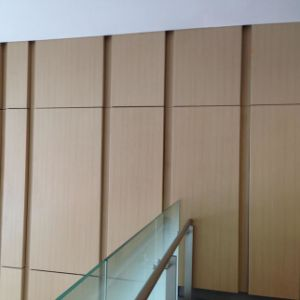 Wood Grain Colour Decorative Aluminum Curtain Wall Panel for Interior Decoration pictures & photos