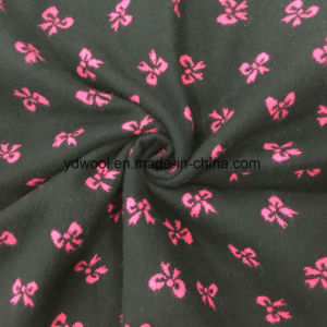 Butterfly Jacquard Wool Fabric Stock pictures & photos