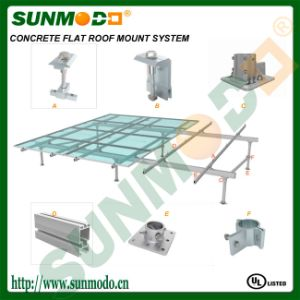 Concrete Footing Solar Ground Mounting System