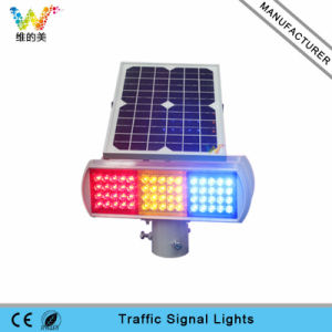 Red Yellow Blue Module Road Safety LED Traffic Flashing Light