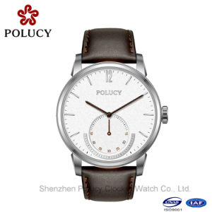 Men Dress Leather Watches Male Stainless Steel Waterproof Sport Wrist Watch pictures & photos