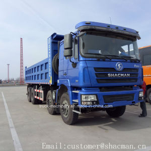 Shacman 8*4 F3000 Dump Truck Cummins Engine 385HP pictures & photos