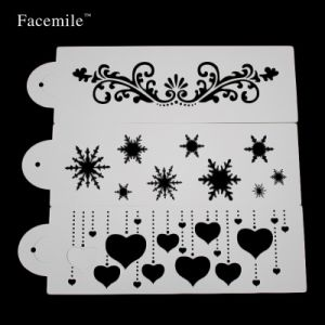 Stencil for Wall Decorating Wedding Fondant Stencil Cake Decorating Tool Mold pictures & photos