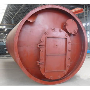 Environmental Waste Plastic and Tyre to Fuel Oil Pyrolysis Plant pictures & photos