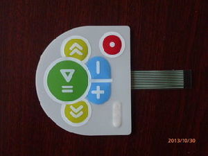 Flexible Dull Polish Membrane Switch Keyboard for Electronic Reading Machine pictures & photos