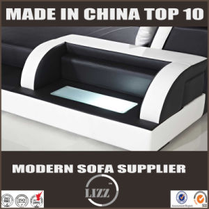 Modern U Shape Sofa Furniture with Light (LZ-3313) pictures & photos