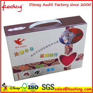 Custom Printed Corrugated Paper Hang Box for Game Controller / Electronics Packaging Box pictures & photos