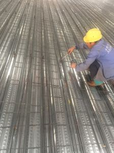 Galvanized Steel Deck Sheet for High Rise Building Material pictures & photos