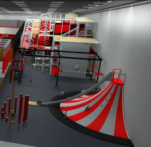 Cheer Amusement Big Kids Indoor Trampoline Park pictures & photos