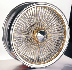 Classic Car 13X7 Steel Wire Wheel Rim pictures & photos