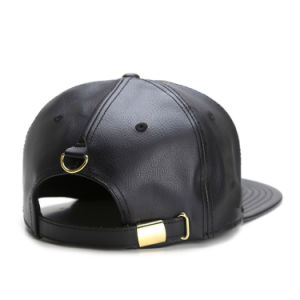 68e9397d658 China Brown Leather Strap Snapback Hats Stock - China Leather Strap ...