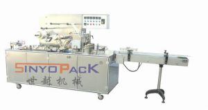 Adjustable Cellophane Overwrapping Machine (with adhesive tear-tape) pictures & photos