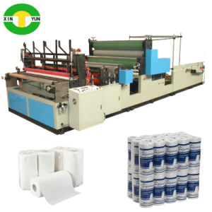 High Product Perforation Kitchen Tissue Roll Making Machine pictures & photos
