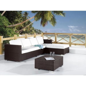 Outdoor Furniture Rattan Sofa Set (WS-06025) pictures & photos