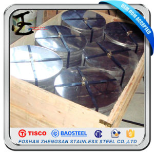 201 Aod Material Stainless Steel Circle pictures & photos