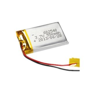 3.7V 600mAh 602540 Li-Polymer Battery Lithium Ion Rechargeable Battery